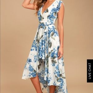 Floral Hi-Low Dress